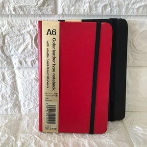 Other - Leather type notebook (Red)